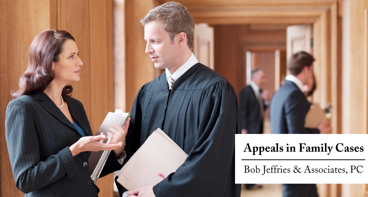 Appeals in Family Cases
