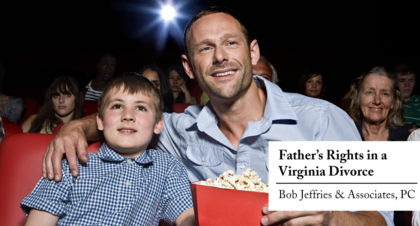 father's rights in a virginia divorce