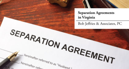 Separation Agreements in Virginia